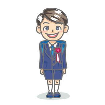 Elementary school boy_enrollment