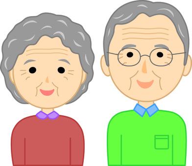 Elderly couple 5