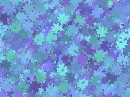 Four leaf clover (blue)