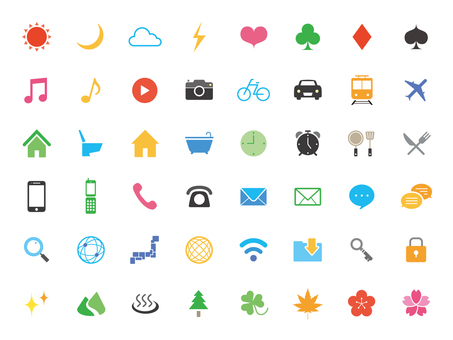 Standard icon set [3] full color