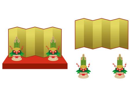 Kadomatsu decoration