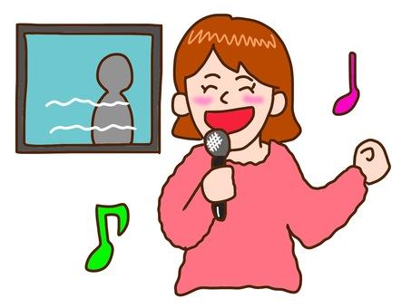 Karaoke women