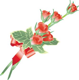 장미 꽃다발