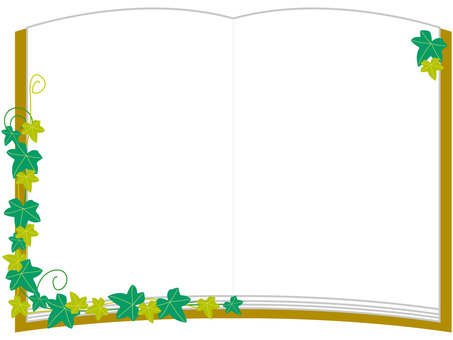 Frame book Ivy