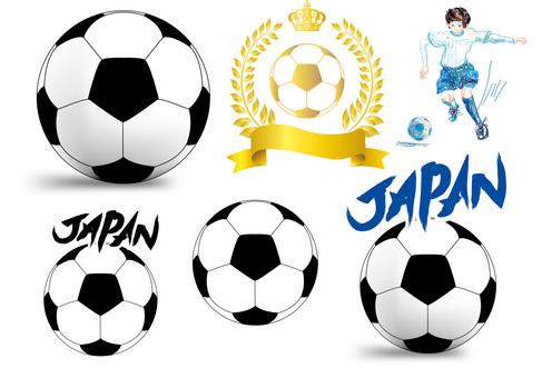 Soccer ball soccer boy free illustration picture