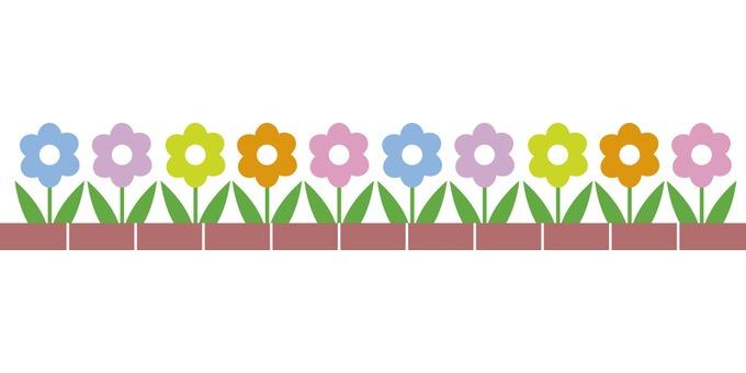 Flower bed · flower