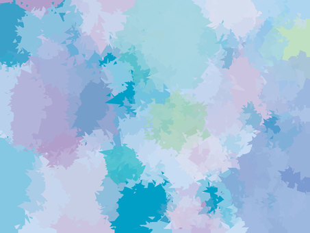 Colorful rainbow color pastel polygon background material
