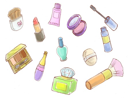 Cosmetics set color