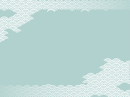 Qinghai wave - green