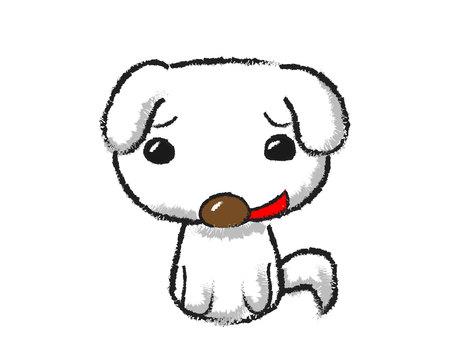 狗白色邊界封印樣式