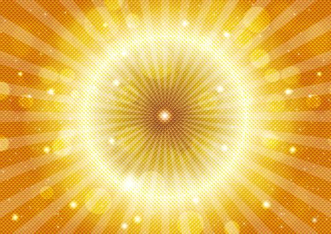 Gold sparkle 54