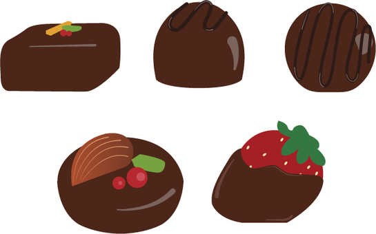 Material of chocolate