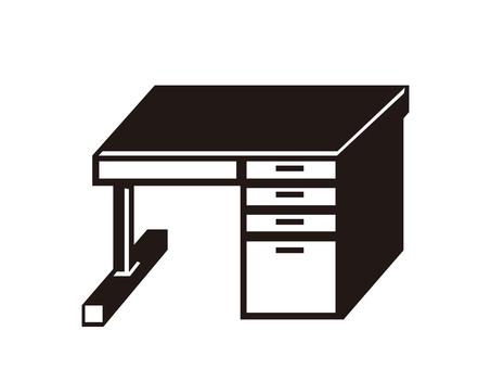 Silhouette _ study desk