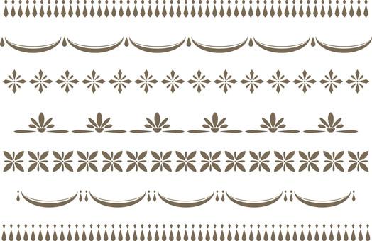 Simple decorative border 2
