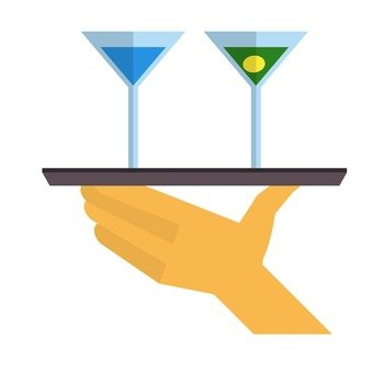 Hands holding an Obon