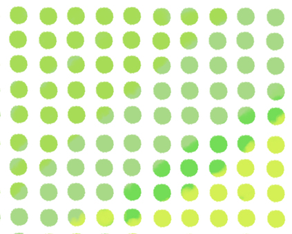 Polka dot · yellow green-yellow