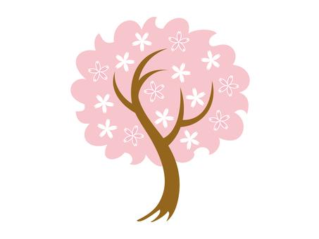 도안 벚꽃 나무 9
