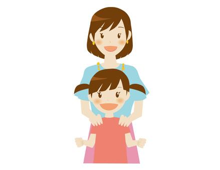 媽媽和女孩