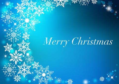 Christmas _ Blue _ Background