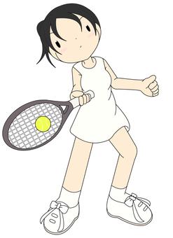 Tennis player girl