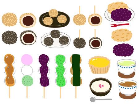 Various sweet things