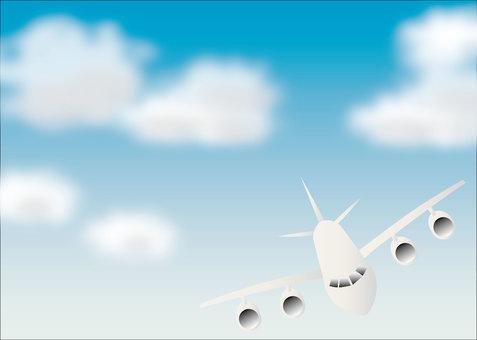 飛行機01_03(空)