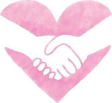 Heart 22_03 (handshake)