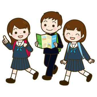 中学生 修学旅行・遠足