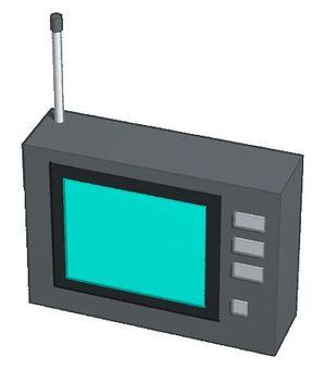 One segment TV