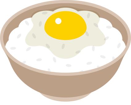 メニュー 卵かけ御飯