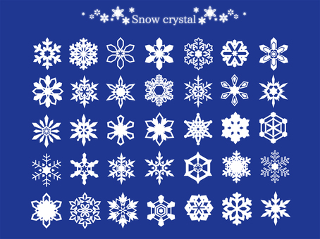 Snow Crystal 01