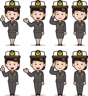 Self-Defense Forces 2 (Women · Maritime Self-Defense Force)