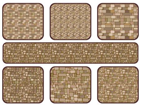 Brick style wallpaper