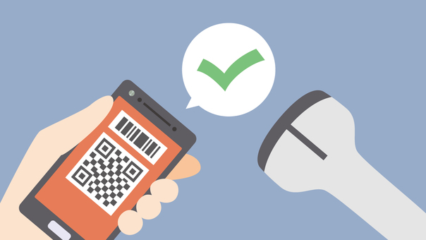 Eye catch barcode payment