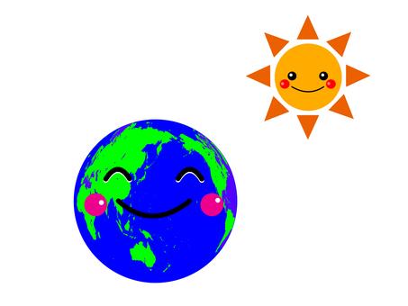 지구와 태양