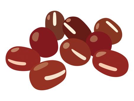 Red beans (azuki)