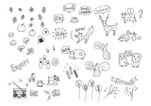 手绘插图2