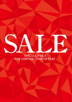 SALE Promotional Poster · Tapestry Red