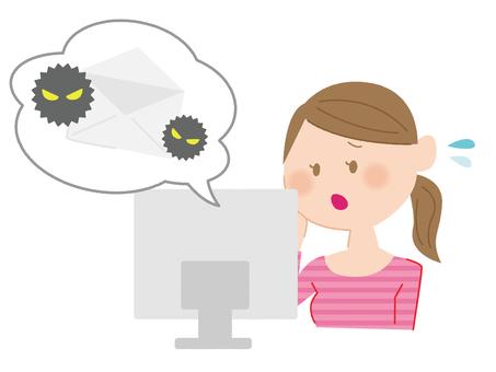 바이러스에 감염된 컴퓨터 2