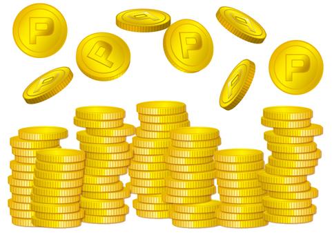 산적 동전 세트 소재