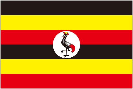 ウガンダ 国旗