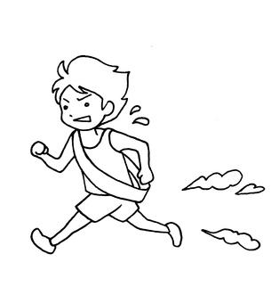 달리는 사람