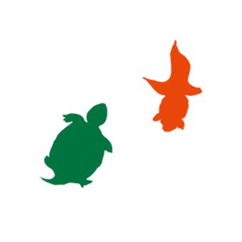 Japanese style goldfish turtle