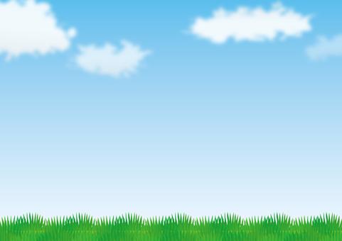 Prairie and sky 1