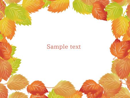 단풍 단풍 · 낙엽 프레임