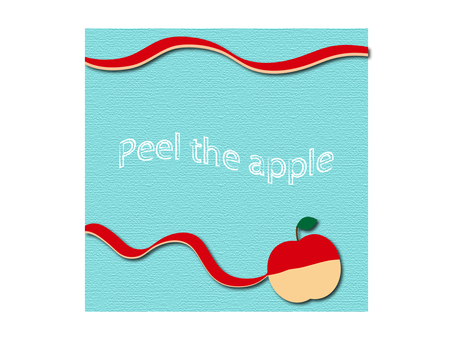 Apples illustration material