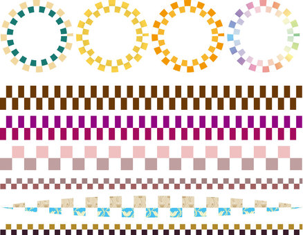 Checker pattern 03