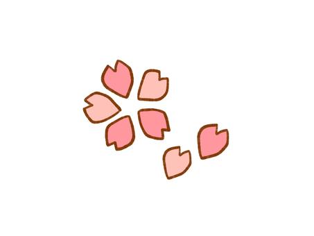 벚꽃 원 포인트