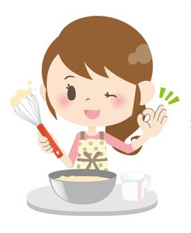 Housewife A * Hand Cuisine 06