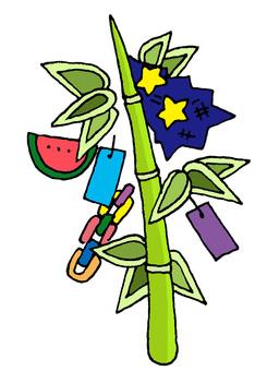 Tanabata's bamboo shoots